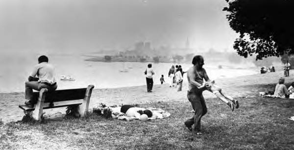 Edgewater beach through the years