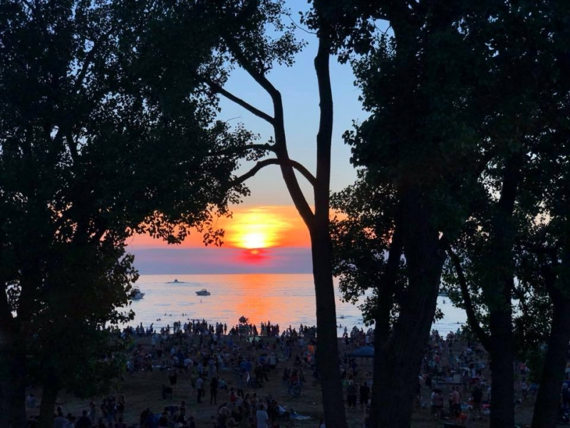 Summer Solstice Sunset photo contest