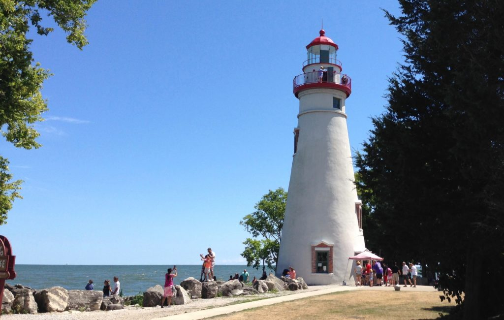 The Marblehead lighthouse is one of the most photographed landmarks in Ohio. (Susan Glaser, The Plain Dealer)
