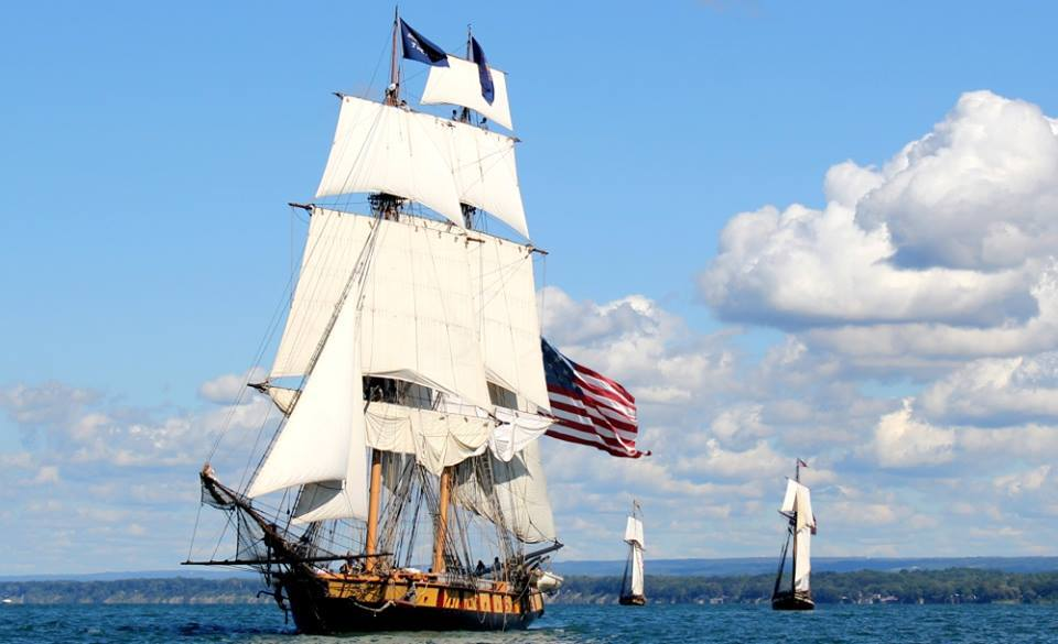 The U.S. Brig Niagara will be at the Sandusky Festival of Sail. (Festival of Sail)