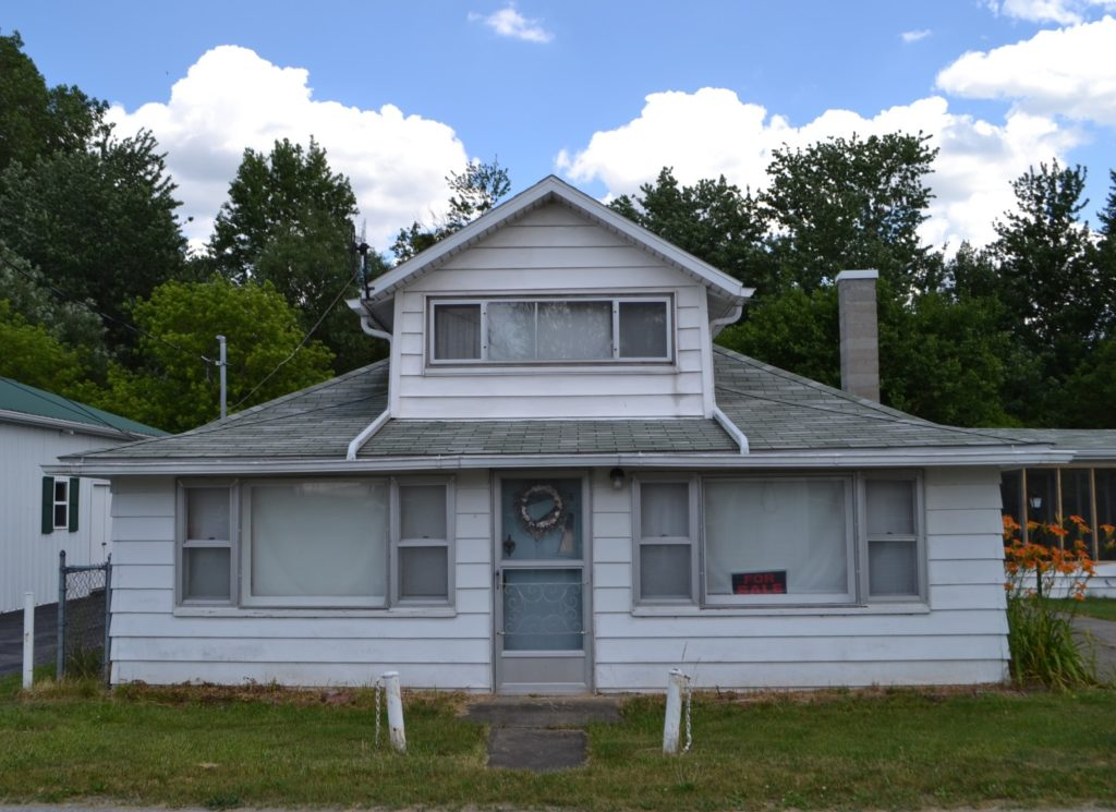 This Vickery cottage is listed at $59,900. (Linda Armstrong, Re/Max)