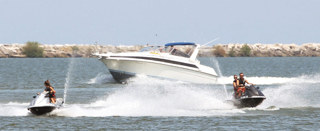 Rent a personal watercraft for summer fun on Lake Erie. (Chuck Crow, The Plain Dealer)