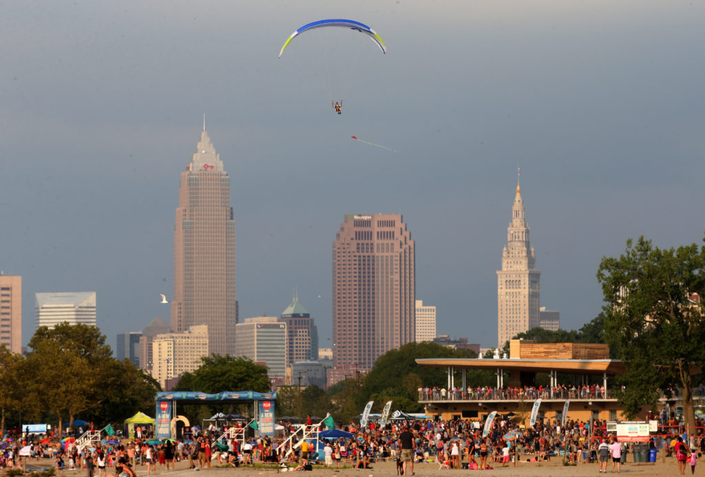 Summer is made for blasting music. Here's the perfect playlist for hanging out on Lake Erie. (Thomas Ondrey, The Plain Dealer)