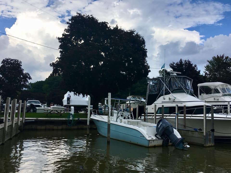Time to haul out the boats! (Laura Johnston, RocktheLake)
