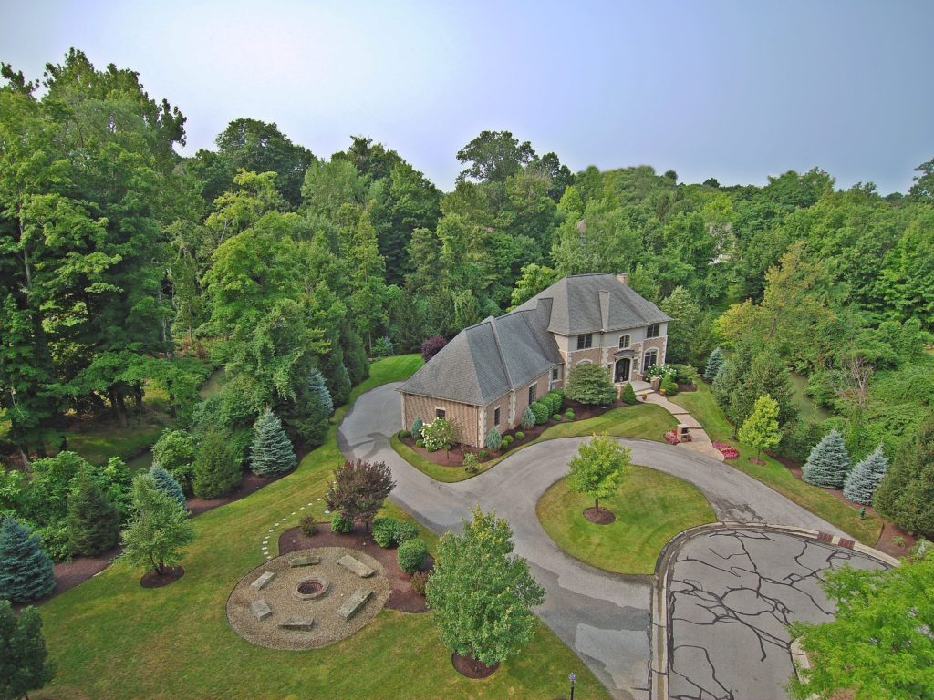 This Bratenahl mansion is priced at $900,000. (Chestnut Hill Realty)