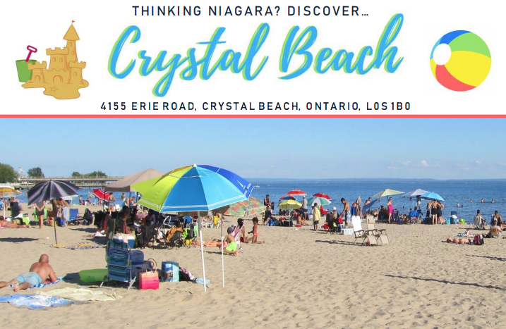 Crystal Beach is one of two Great Lakes beaches that makes the list of the top 50 beaches in North America. (Fort Erie Tourism)