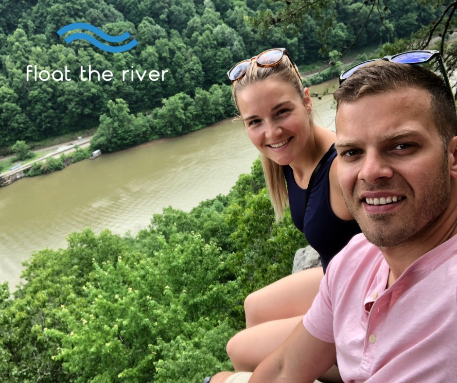 Savannah Snyder and TJ Mack are launching their Float the River business Memorial Day weekend. (TJ Mack)