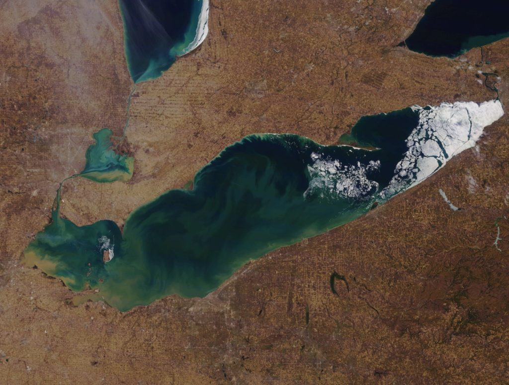 Rain and snow: Lake Erie marine forecast March 29-31 - Rock