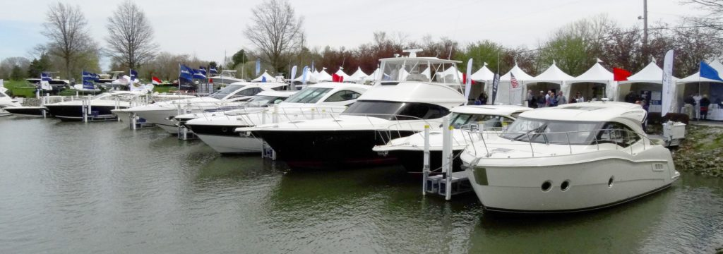 Spring is here with the 2019 Catawba Island Boat Show. (Lake Erie Marine Trades Association)