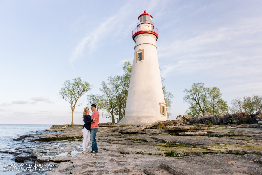 Lake Erie wedding photos