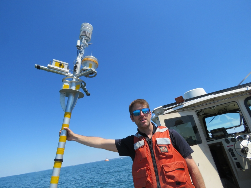 Checking out Cleveland's data buoys