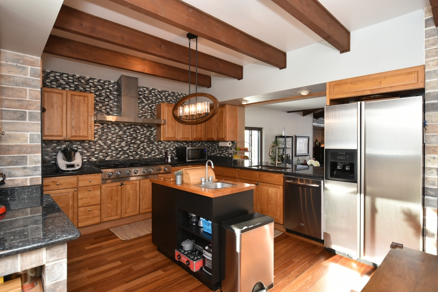 Swiss chalet-style Bay Village home